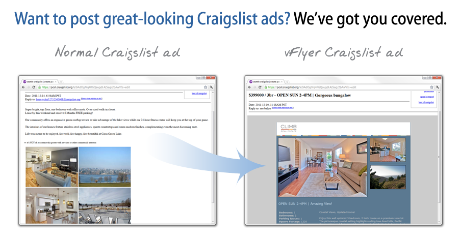Want to post great-looking Craigslist ads? We've got you covered.